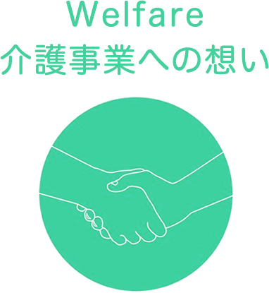 Welfare介護事業への想い